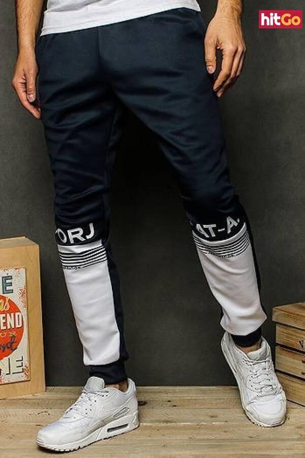 Mens navy blue sweatpants UX2525 pánské Neurčeno L