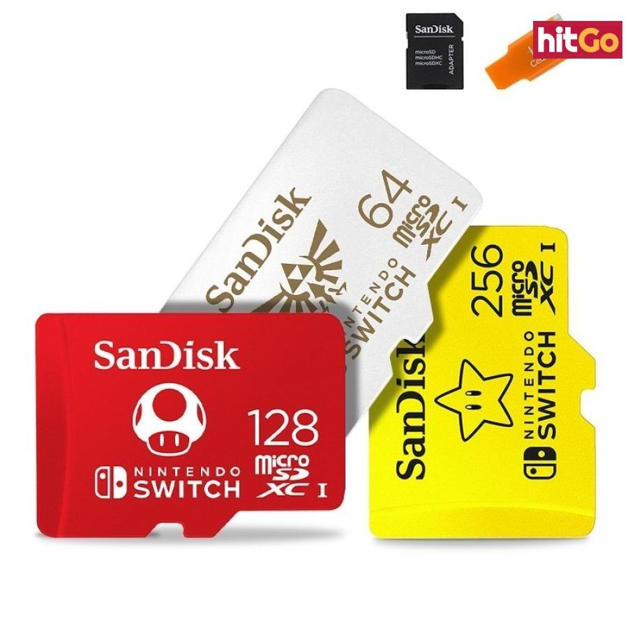 Micro SDXC paměťová karta pro Nintendo Switch Velikost: 256GB