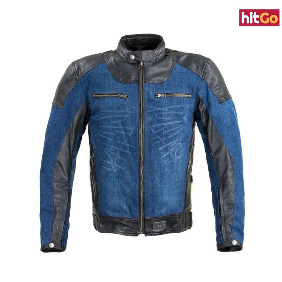 Moto Bunda W-Tec Kareko  6Xl  Modrá 6XL