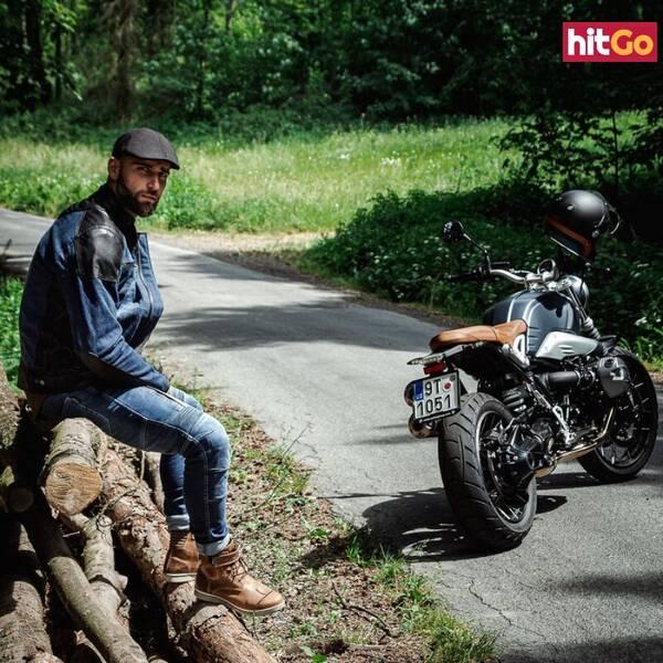 Moto Bunda W-Tec Kareko  Modrá  4Xl 4XL