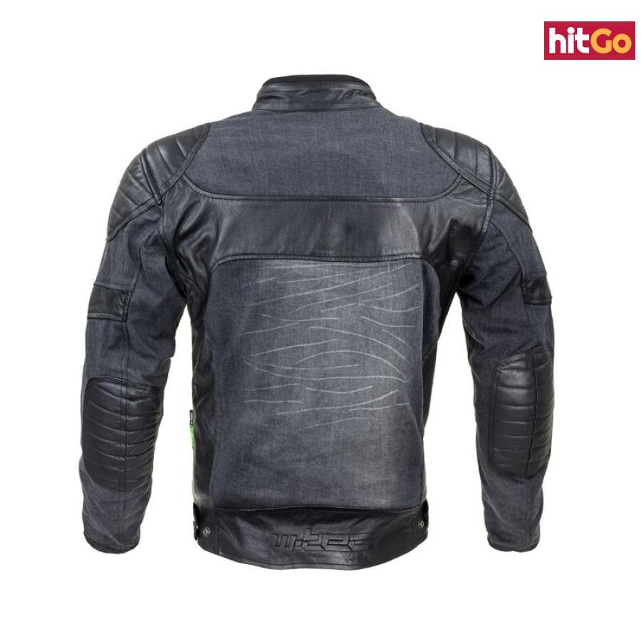 Moto Bunda W-Tec Metalgy  Černá  S S