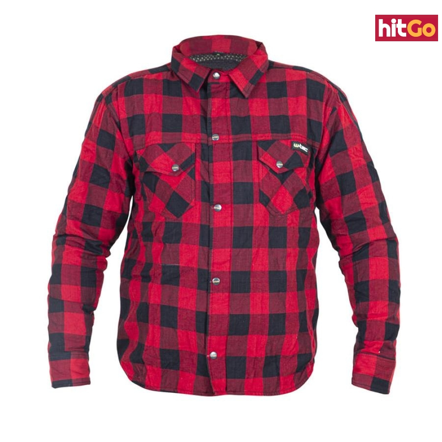 Moto Košile W-Tec Terchis  Červená  Xxxl XXXL