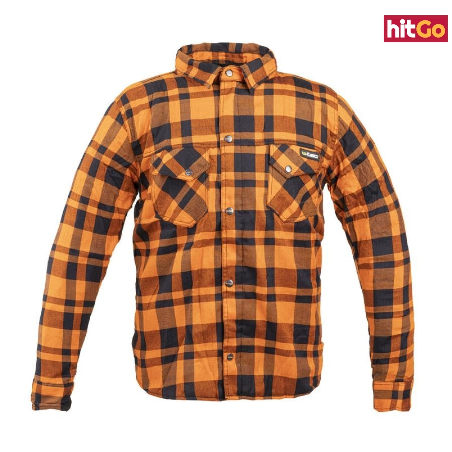 Moto Košile W-Tec Terchis  Oranžová  S S