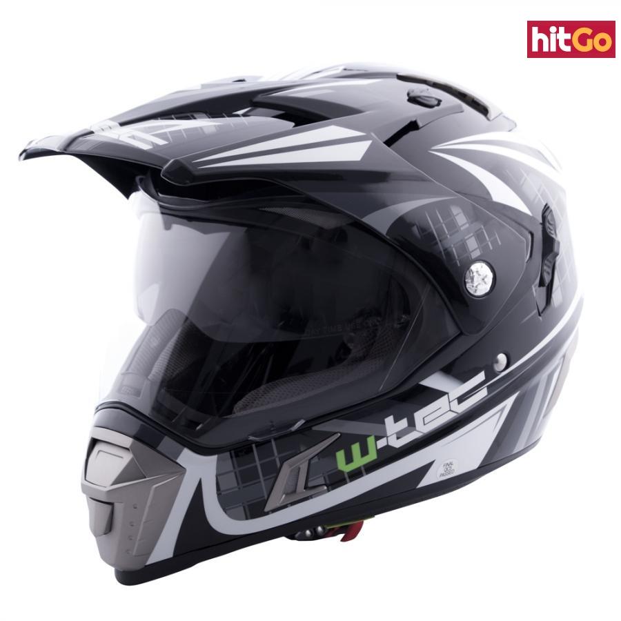 Moto Přilba W-Tec Nk-311  Matt Black  Xs