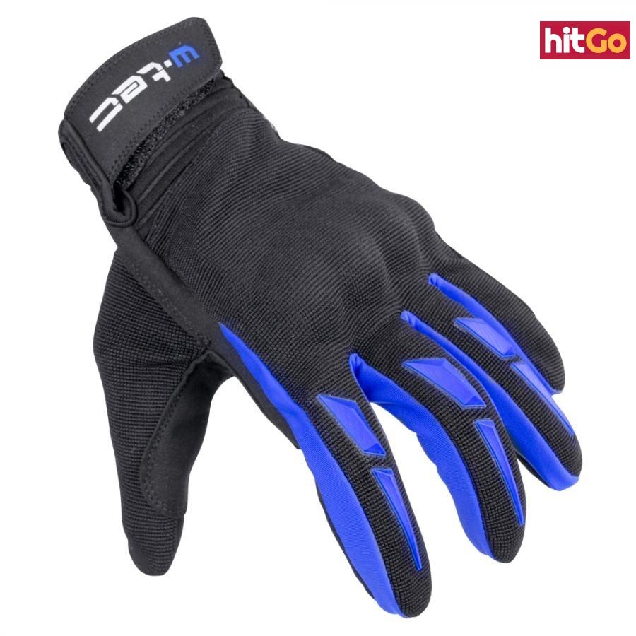 Moto Rukavice W-Tec Hirshla Gs-9044  Modro-Černá  Xs XS