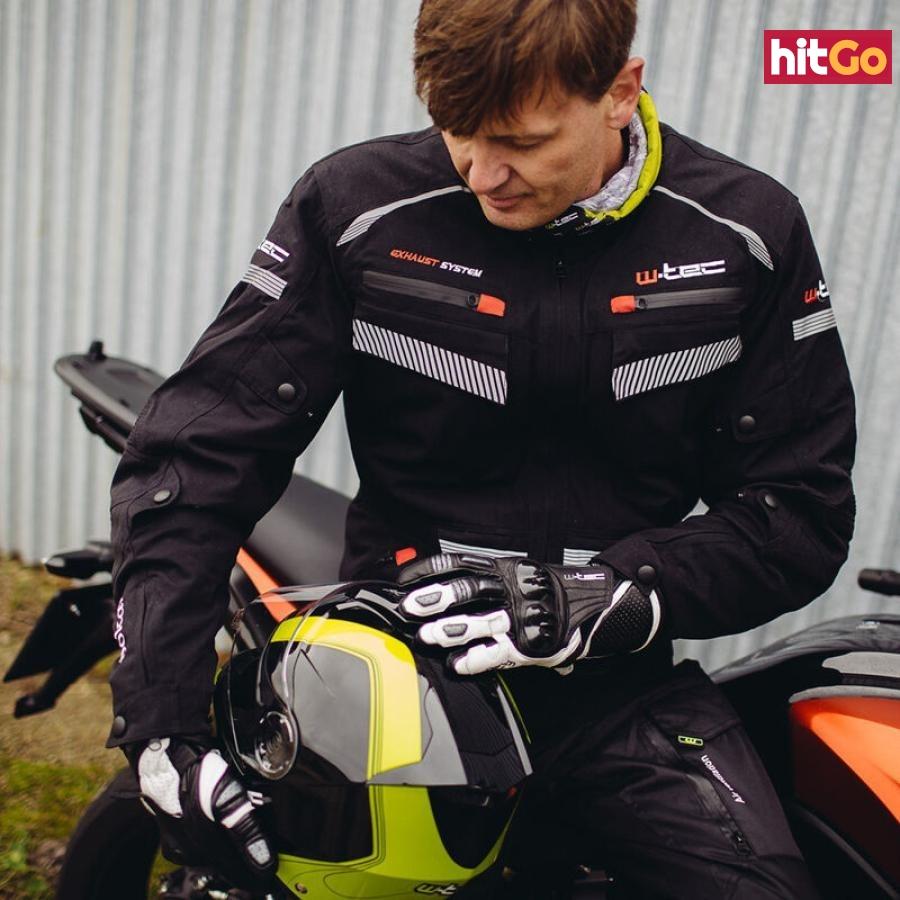 Moto Rukavice W-Tec Radoon  Černo-Bílá  Xxl XXL