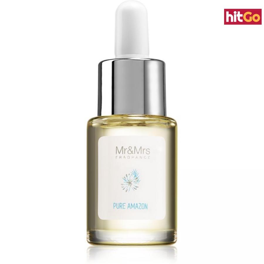 Mr & Mrs Fragrance Blanc Pure Amazon vonný olej 15 ml 15 ml