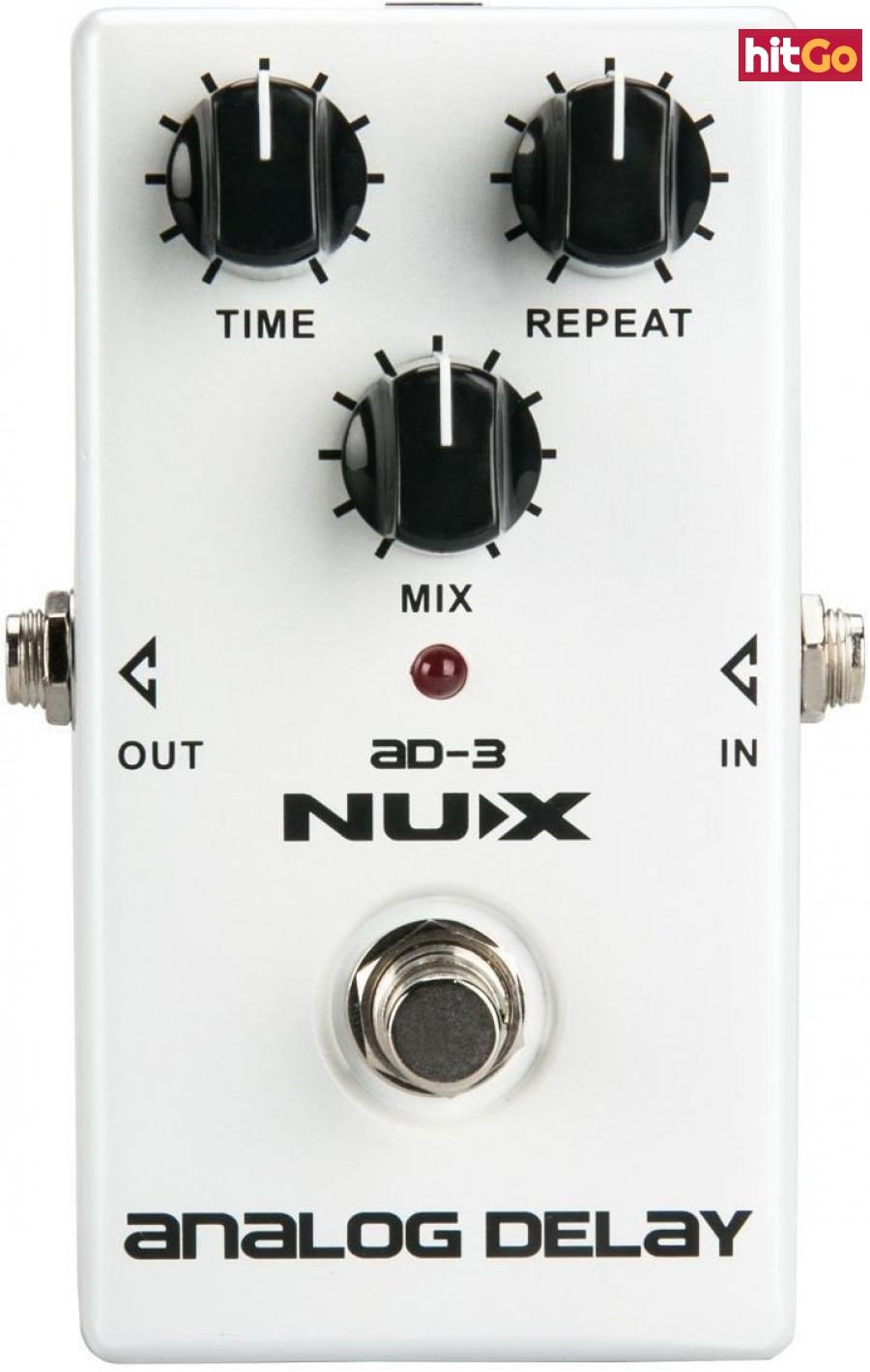 Nux AD-3 Analog Delay White