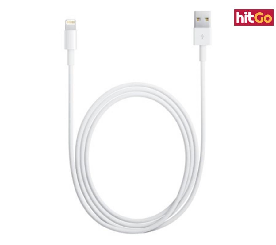 Originální datový kabel Apple MD818 1m pro iPhone White