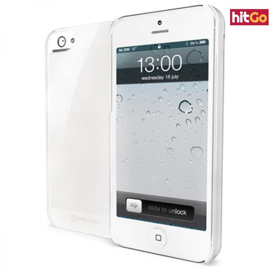 Silikonové pouzdro CELLY Gelskin pro Apple iPhone 5/5S/SE, čiré