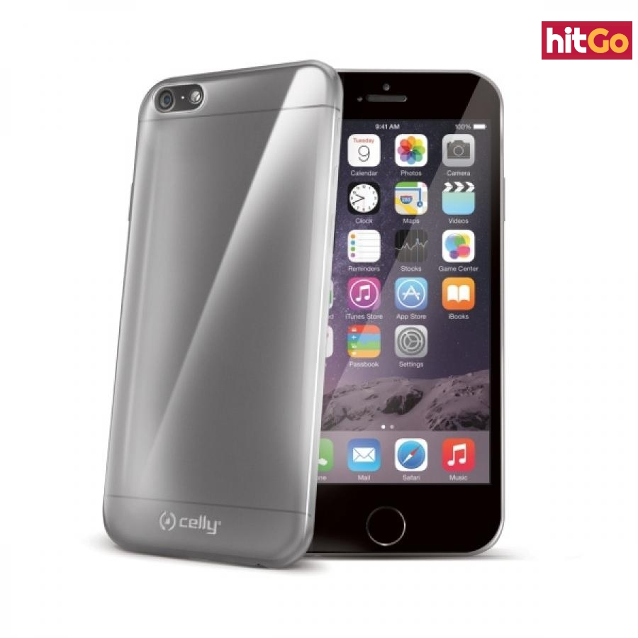Silikonové pouzdro CELLY Gelskin pro Apple iPhone 6 Plus / 6S Plus, bezbarvé