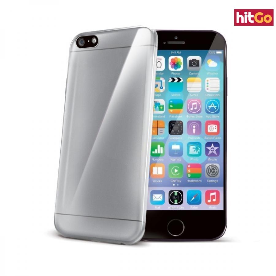 Silikonové pouzdro CELLY Ultrathin pro Apple iPhone 6, bezbarvé