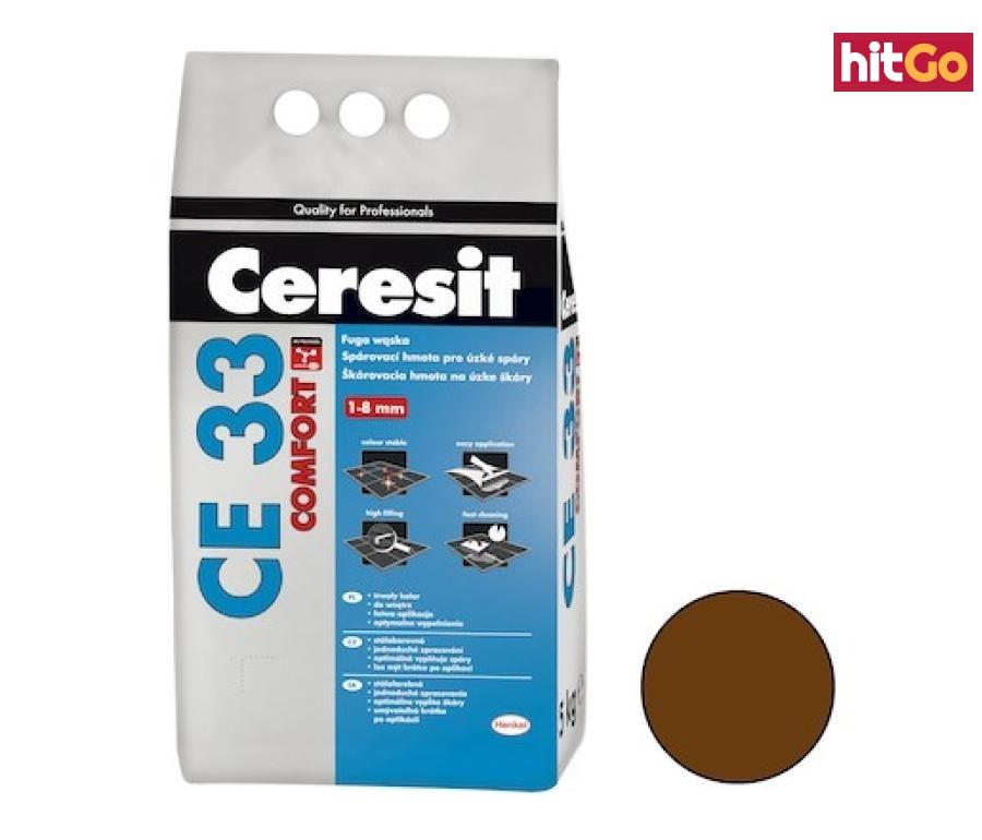 Spárovací hmota Ceresit CE 33 chocolate 5 kg CG1 CE33558 hnědá chocolate