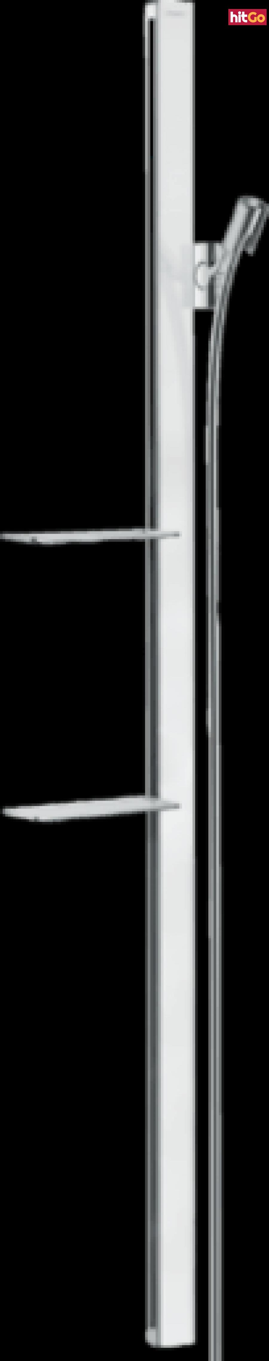 Sprchová tyč Hansgrohe Unica se sprchovou hadicí bílá/chrom 27645400 ostatní bílá