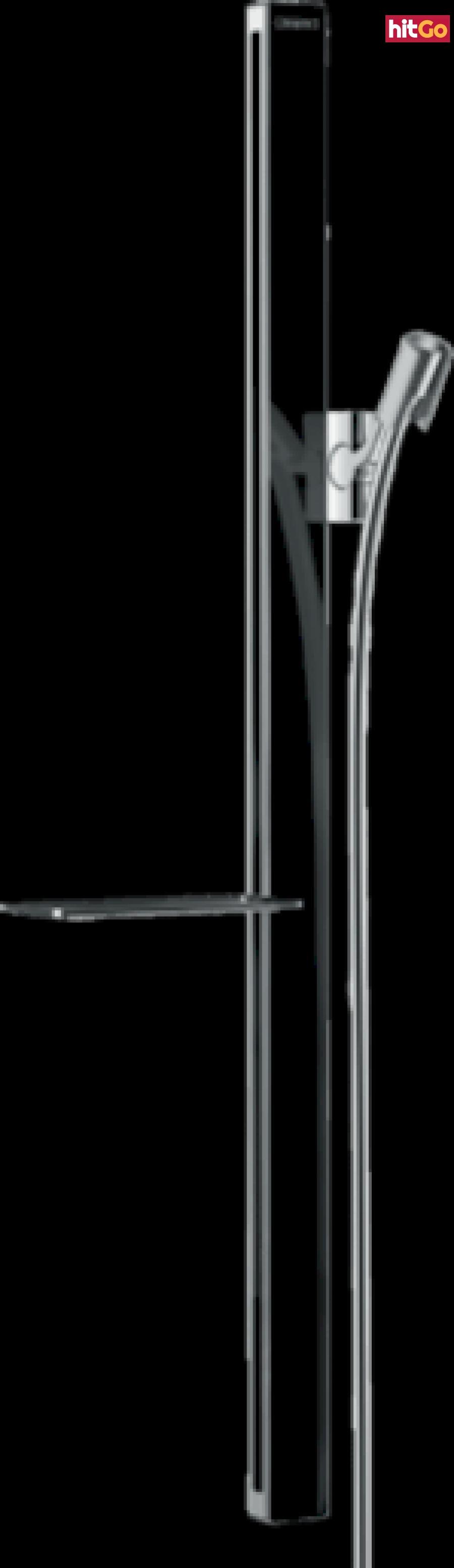 Sprchová tyč Hansgrohe Unica se sprchovou hadicí černá/chrom 27640600 ostatní černá