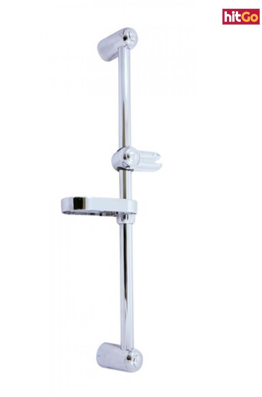 Sprchová tyč RAV SLEZÁK s mýdlenkou chrom PD0016 chrom chrom