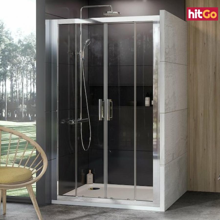 Sprchové dveře 200x190 cm Ravak 10° chrom lesklý 0ZKK0C00Z1