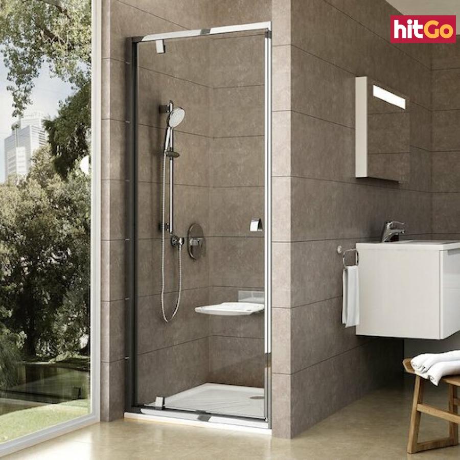 Sprchové dveře 80x190 cm Ravak Pivot chrom lesklý 03G40C00Z1