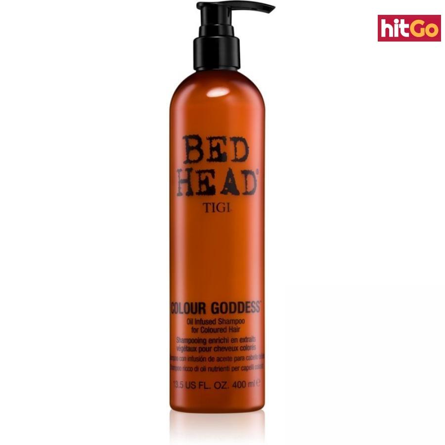 TIGI Bed Head Colour Goddess olejový šampon pro barvené vlasy 400 ml dámské 400 ml
