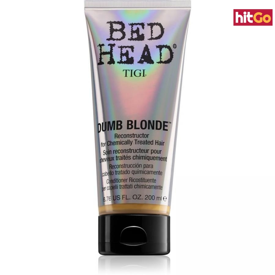TIGI Bed Head Dumb Blonde kondicionér pro chemicky ošetřené vlasy 200 ml dámské 200 ml