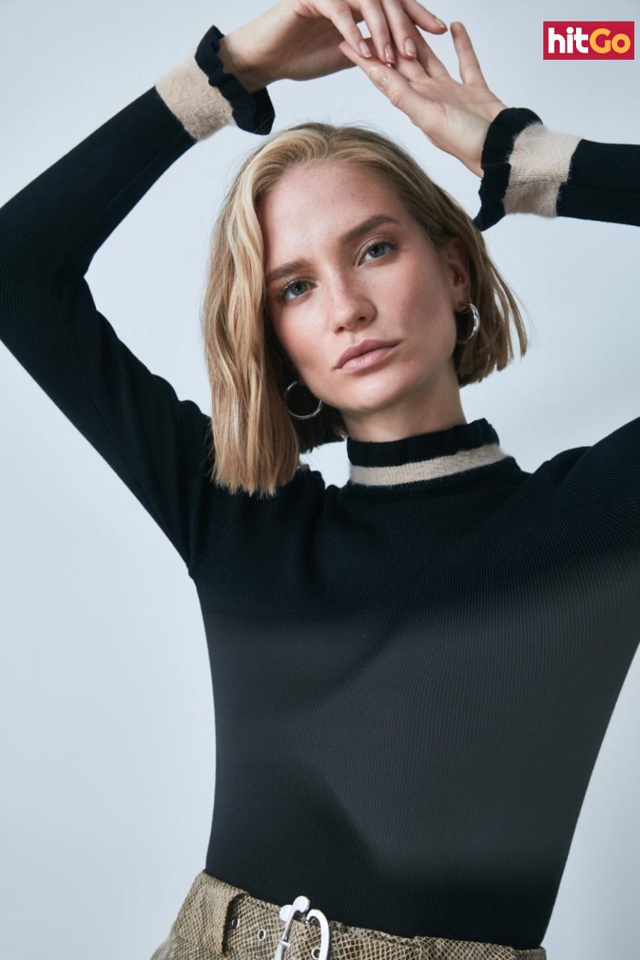 Trendyol Black Knitwear Sweater dámské S
