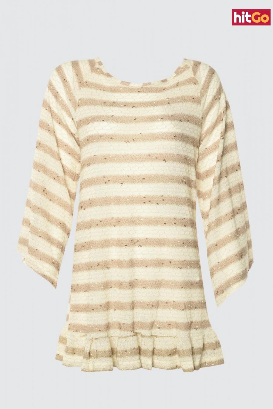 Trendyol MultiColor Back Detailed Knitwear Dress dámské 34