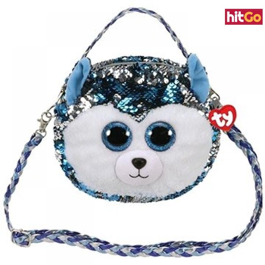 Ty Fashion Sequins kabelka s flitry SLUSH - husky
