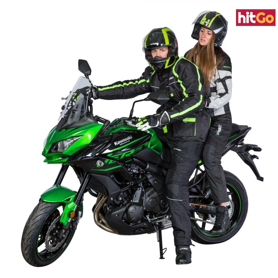 Unisex Motocyklové Kalhoty W-Tec Mihos New  Černá  L L