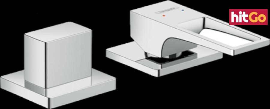 Vanová baterie Hansgrohe Metropol bez podomítkového tělesa chrom 74548000 chrom chrom