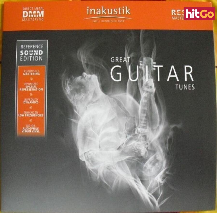 Various Artists Great Guitar Tunes  Black