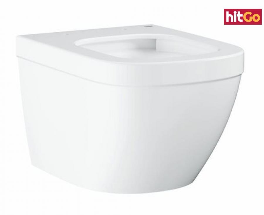 Wc závěsné Grohe Euro Ceramic alpská bílá zadní odpad 3920600H bílá alpská bílá
