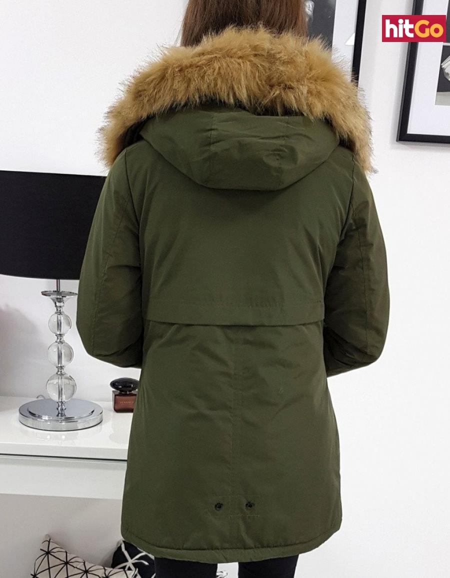 Winter womens parka ALASKA olive TY0921 dámské Neurčeno L