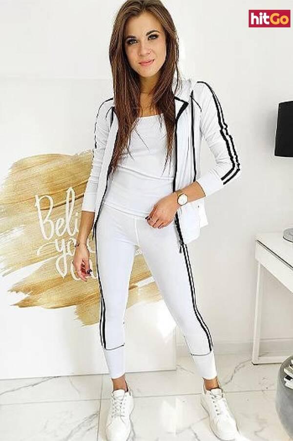 Womens 3in1 VELLA white sweatshirt AY0383 dámské Neurčeno XL