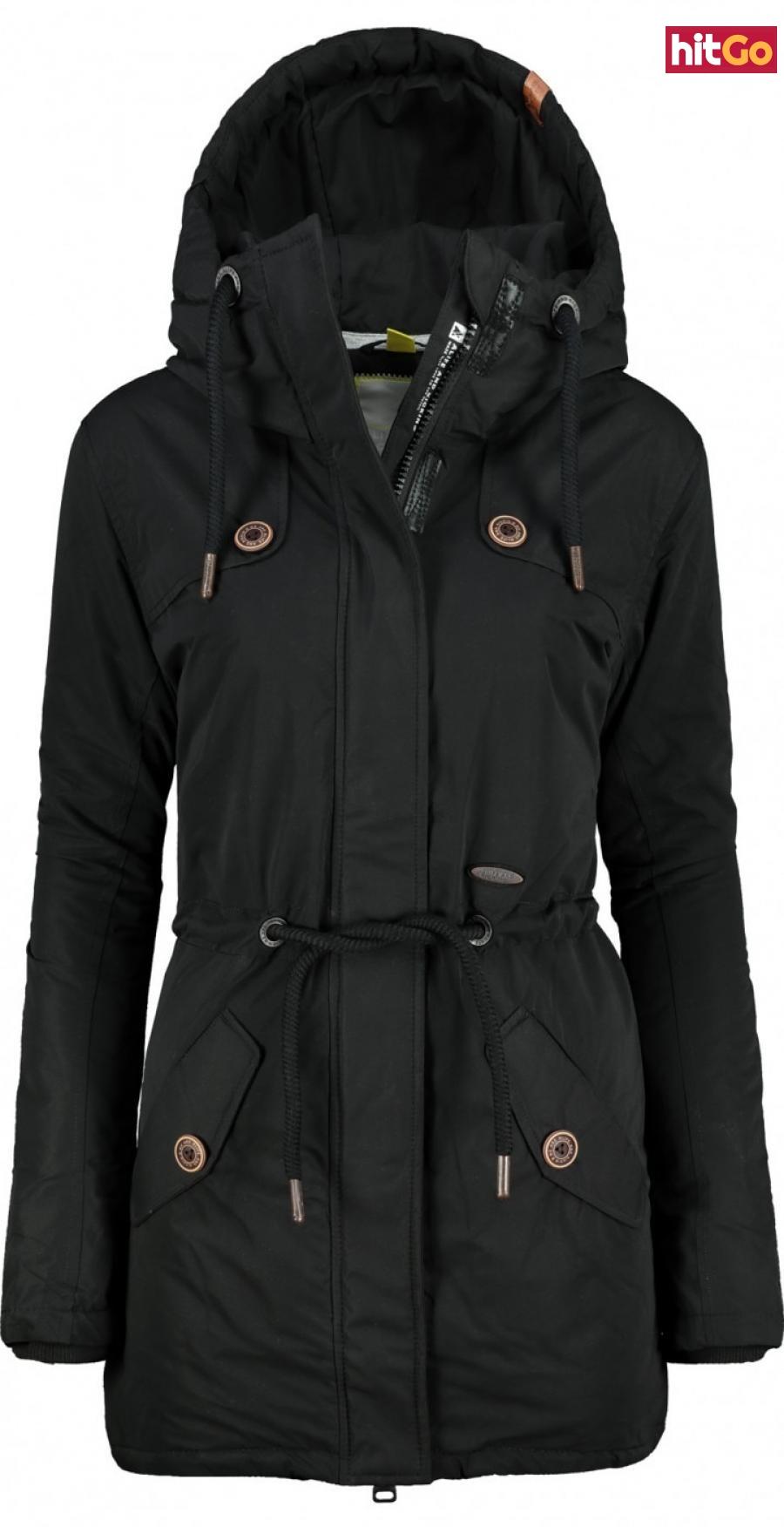 Womens jacket Alife and Kickin Charlotte C dámské Moonless XS