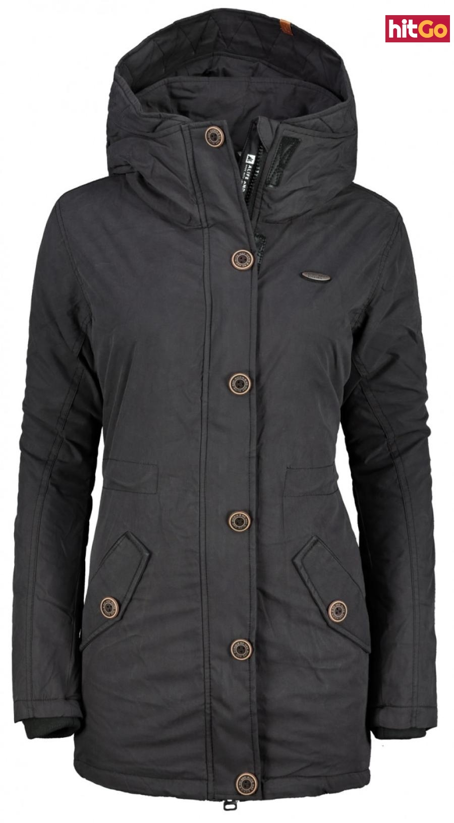 Womens jacket Alife and Kickin Flora dámské Moonless S
