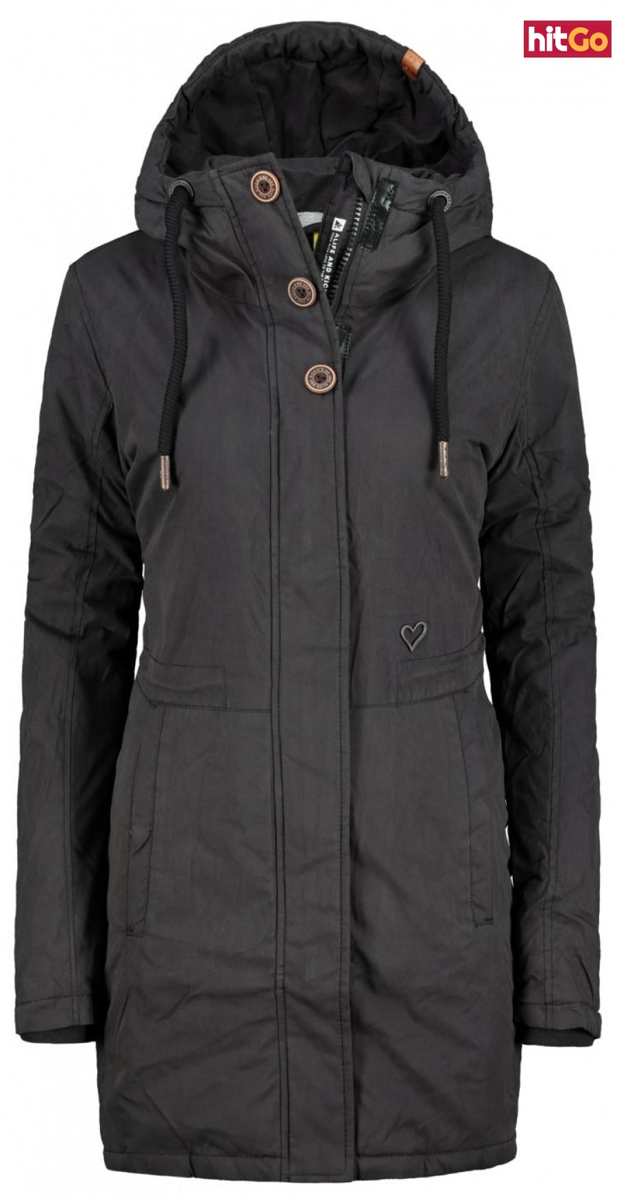 Womens jacket Alife and Kickin Hanna dámské Moonless XS