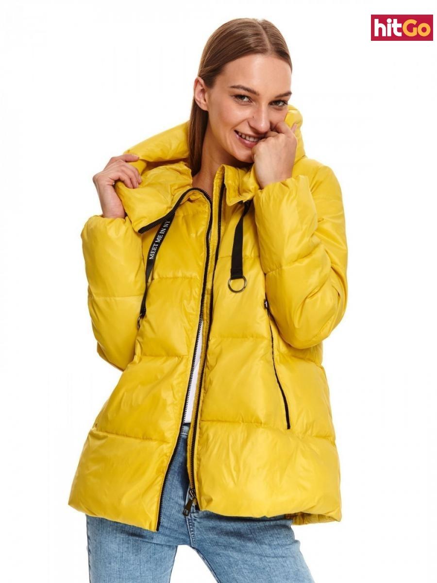 Womens jacket Top Secret Quilted dámské Yellow 36