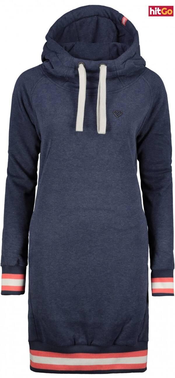 Womens sweatshirt Alife and Kickin Helena dámské Marine XL