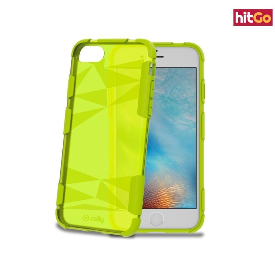 Zadní kryt Celly Prysma pro Apple iPhone 7 Green