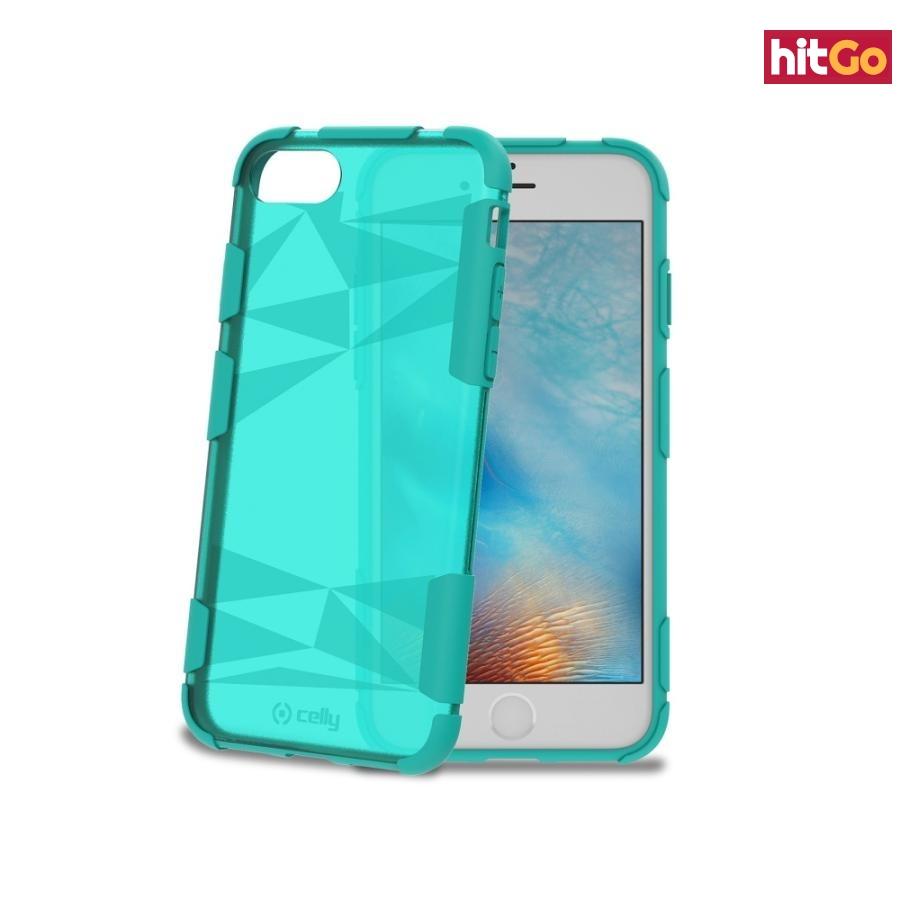 Zadní kryt Celly Prysma pro Apple iPhone 7 Turquoise