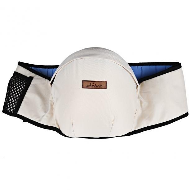 Dětský nosič - Ledvinka - 5 barev Barva: bílá