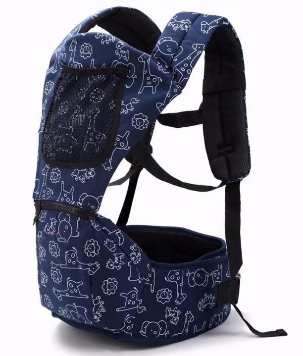 Dětský nosič se zvířátky - 4 barvy Barva: modrá