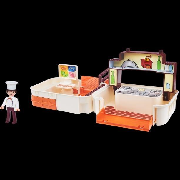 Igráček Handy Kuchyně s kuchařem a doplňky dámské