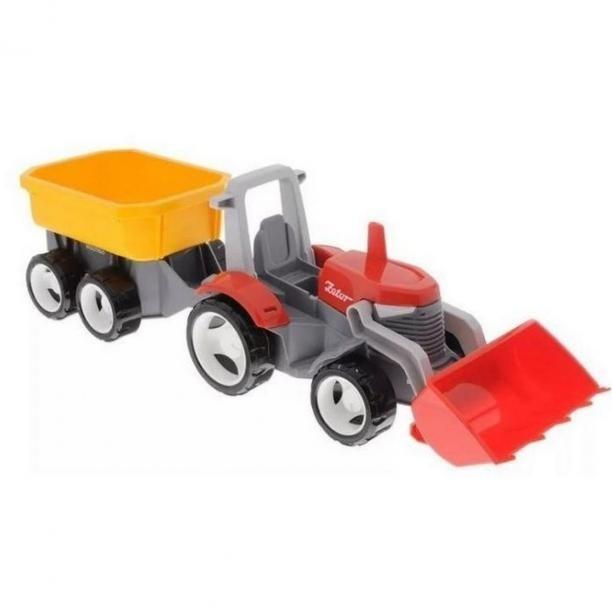 Igráček Multigo 1 2 traktor s přívěsem Eko balení pánské
