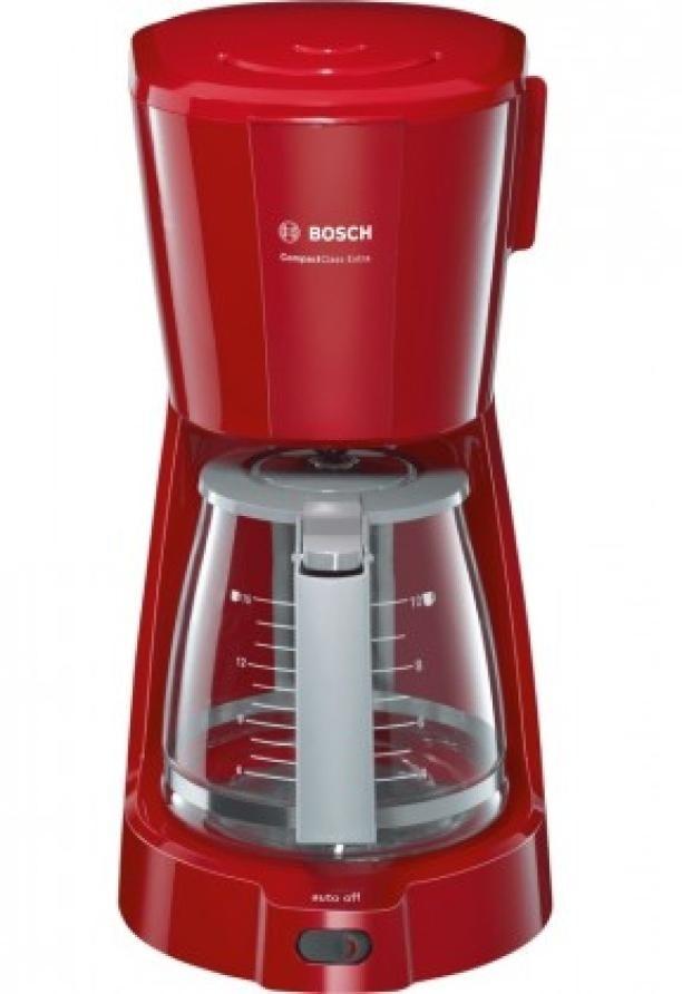 Překapaváč kávy kávovar bosch tka3a034, červená