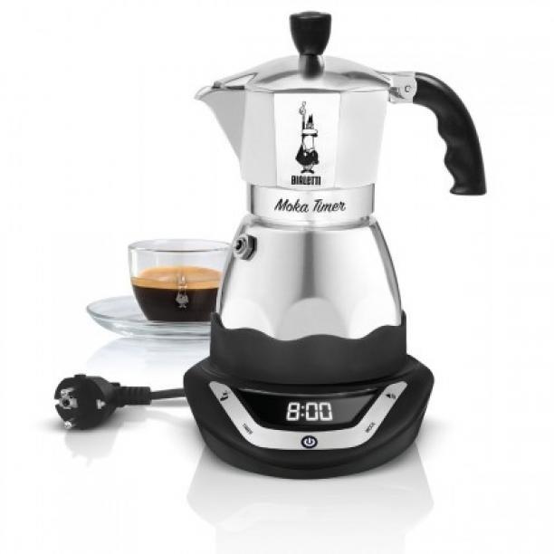Překapaváč kávy moka konvička bialetti moka easy timer 3