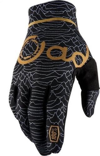 100% CELIUM 2 Gloves Cadence Black LG L