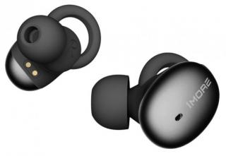 1more stylish truly wireless headphones  black