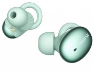 1more stylish truly wireless headphones  green