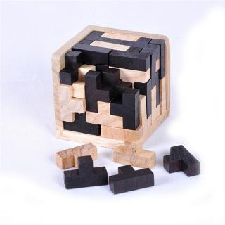3D vzdělávací puzzle ve tvaru krychle